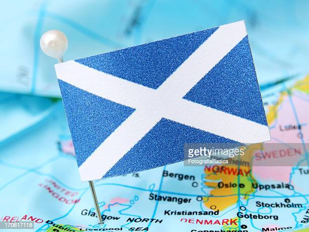 scotland - scotland flag stock photos and pictures