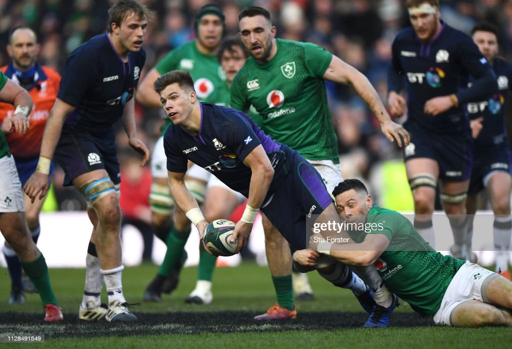 Scotland v Ireland - Guinness Six Nations : News Photo