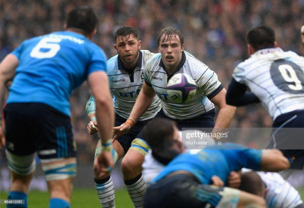 Scotland v Italy - RBS Six Nations : News Photo