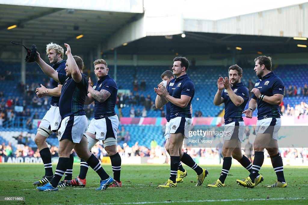 Scotland v USA - Group B: Rugby World Cup 2015 : News Photo