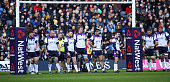 edinburgh scotland scotland players wait under