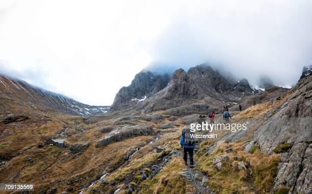 UK, Scotland, trekking at Ben Nevis