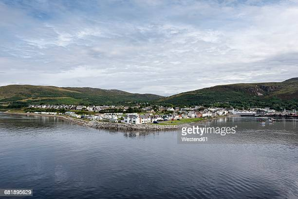UK, Scotland, view to Ullapool at Loch Assynt