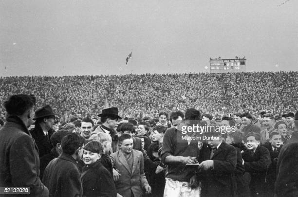 Scotland win a rugby match against Ireland 19th March 1955 Original Publication Picture Post 7646 Can Scotland Do It pub 1955