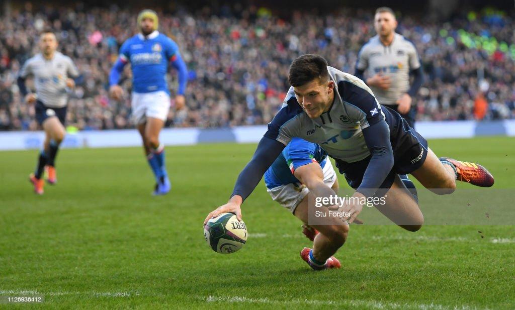 Scotland v Italy - Guinness Six Nations : News Photo