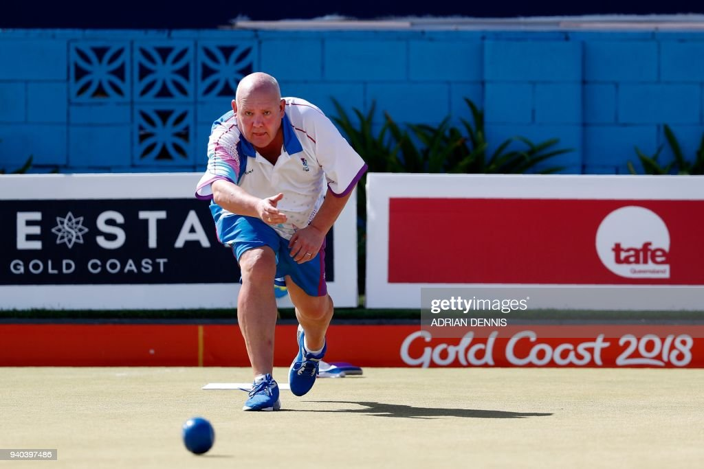 LAWNBOWLS-CGAMES-2018-GOLD COAST : News Photo