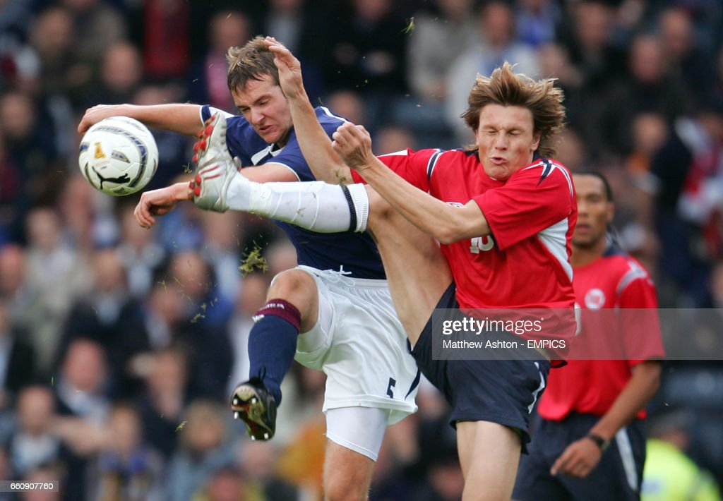 Scotland's Andy Webster and No...