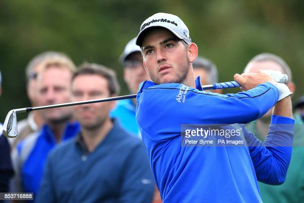 Scotland's Bradley Neil during practice day four of the 2014 Open Championship at Royal Liverpool Golf Club Hoylake