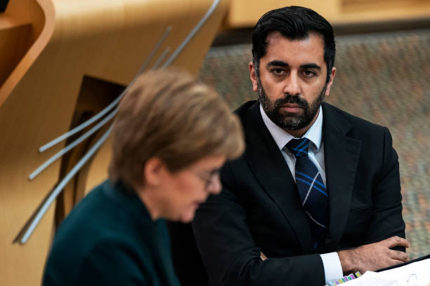 GBR: Nicola Sturgeon Attends First Minister's Questions