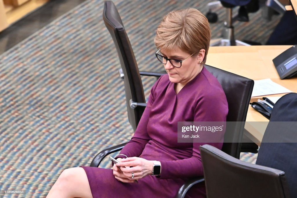 Scottish Daily Politics 2019 : News Photo