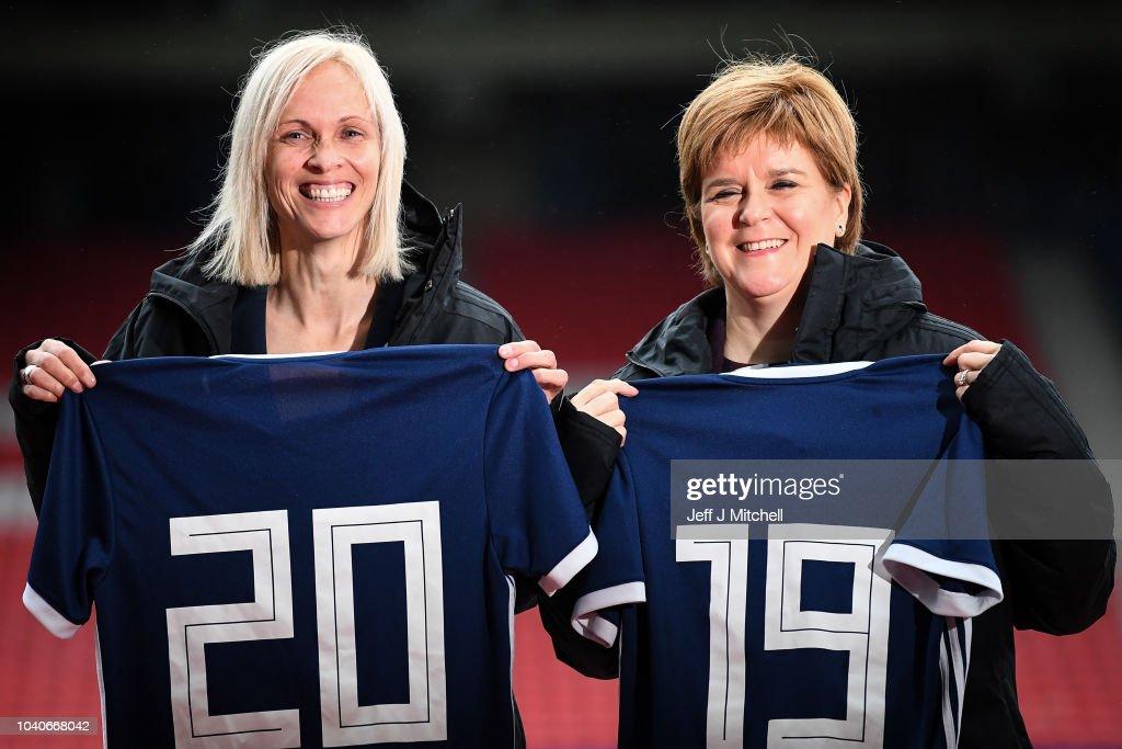 Nicola Sturgeon Announces Funding Agreement For Scotland Women's Football Team