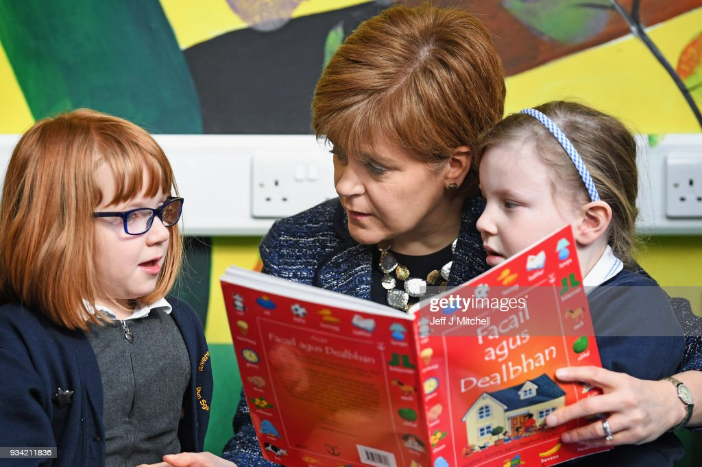 Scotland's First Minister Announces Further Expansion Of Her Reading Challenge