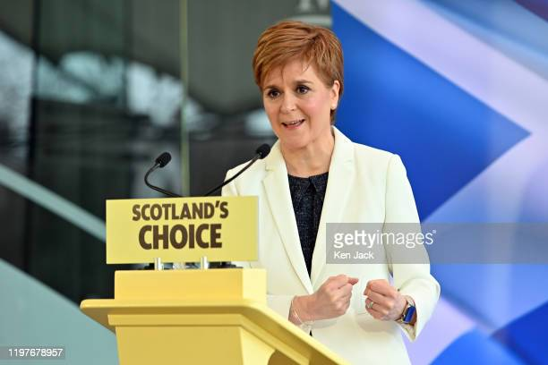 Scotland's First Minister Nicola Sturgeon sets out the next steps in the SNP's campaign for Scottish independence in a speech to activists, elected...