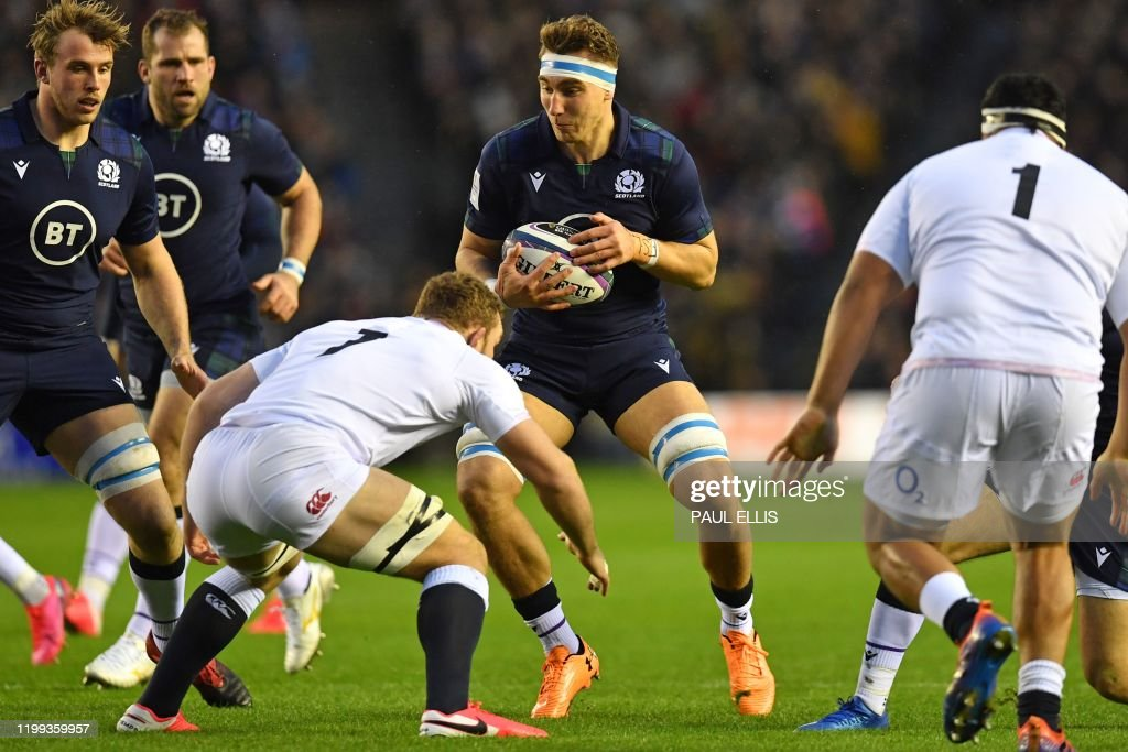 RUGBYU-6NATIONS-SCO-ENG : News Photo