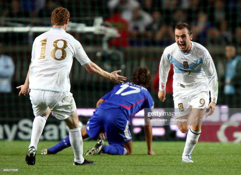 Image result for James mcfadden france goal