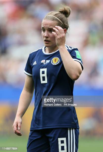 Scotland's Kim Little during the FIFA Women's World Cup Group D match at the Stade de Nice