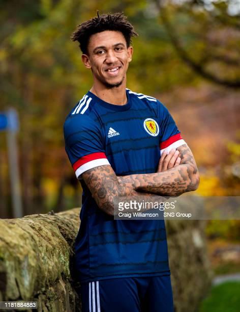 Scotlands Liam Palmer during a press conference at The Oriam on November 12 in Edinburgh, Scotland.