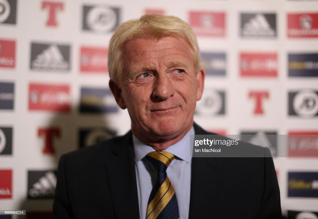 Scotland v England Squad Announcement : News Photo