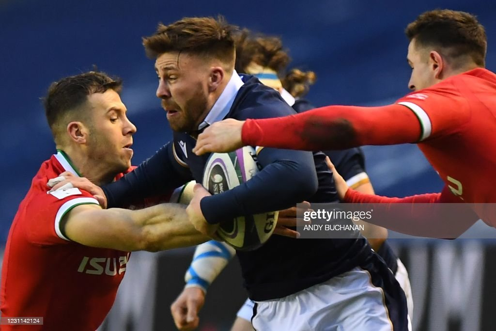 RUGBYU-6NATIONS-SCO-WAL : News Photo
