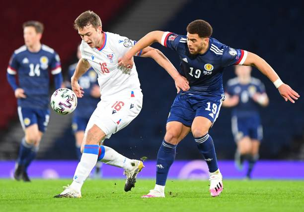 GBR: Scotland v Faroe Islands - FIFA World Cup 2022 Qatar Qualifier