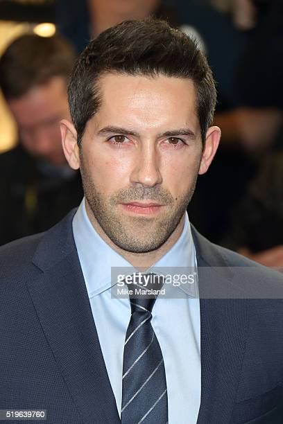 Scott Adkins arrives for the UK premiere of 'Criminal' at The Curzon Mayfair on April 7 2016 in London England