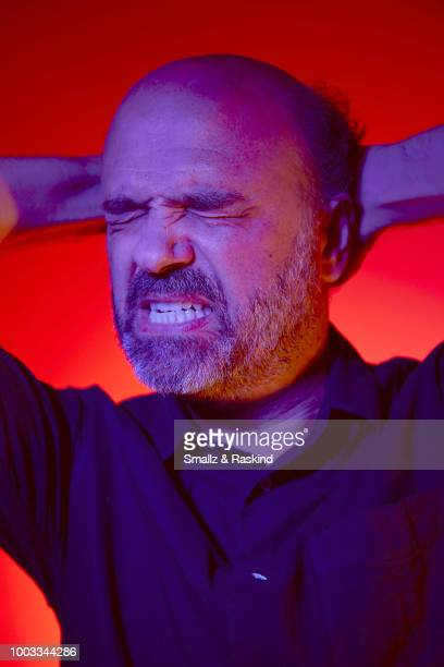 Scott Adsit from Disney's 'Big Hero 6' poses for a portrait at the Getty Images Portrait Studio powered by Pizza Hut at San Diego 2018 Comic Con at...