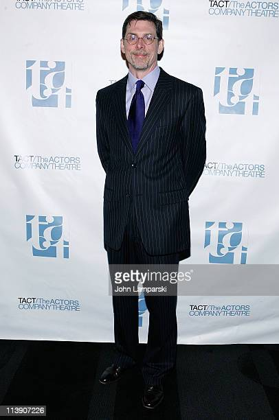 Scott Alan Evans attends the TACT/The Actors Company Theatre Spring Gala at The Edison Ballroom on May 9 2011 in New York United States