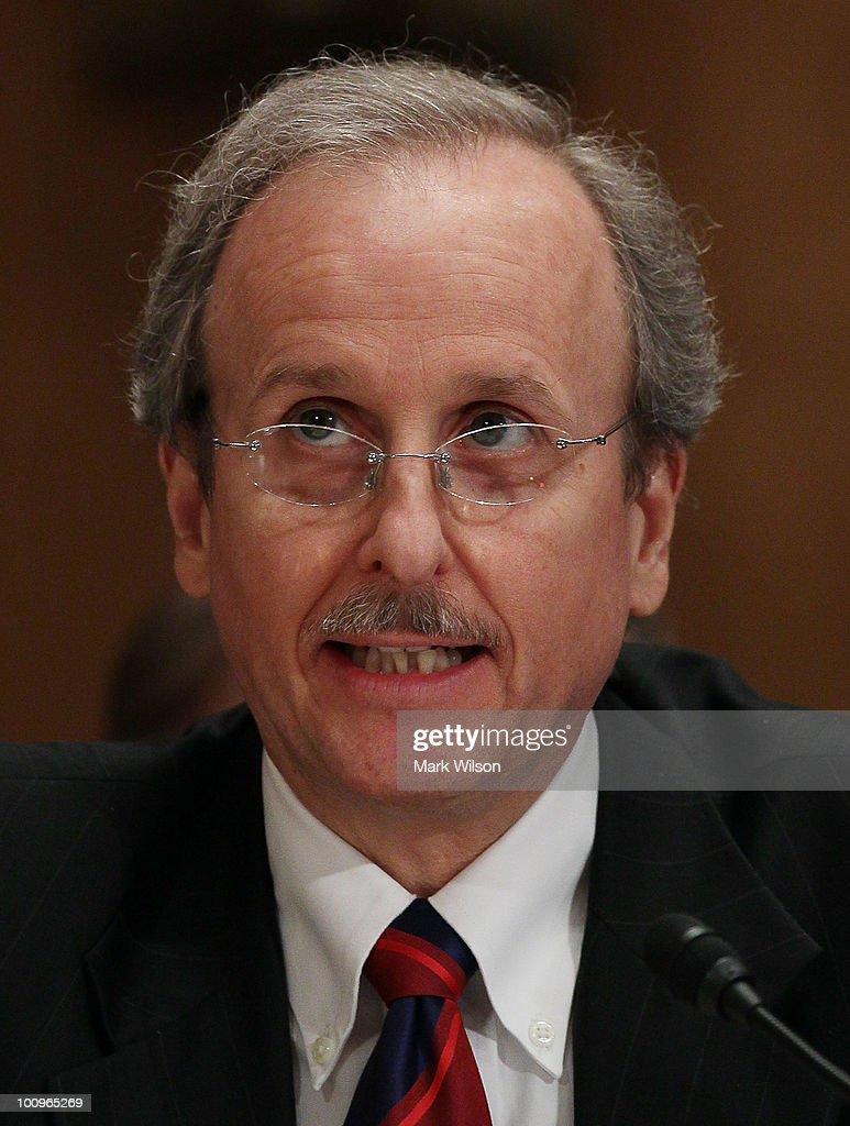Scott Alvarez, general counsel at the Federal Reserve Board
