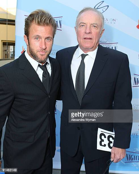Scott and James Caan arrive at Life Rolls On Foundation�s annual Night By The Ocean Gala held at The Highlands club in the Hollywood Highland Center...