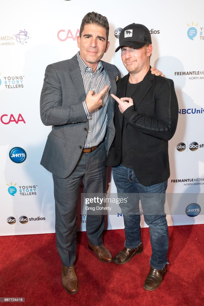 Scott and Jason Hervey attend The Junior Hollywood Radio & Television Society's 15th Annual Holiday Party at Le Jardin on December 6, 2017 in Hollywood, California.
