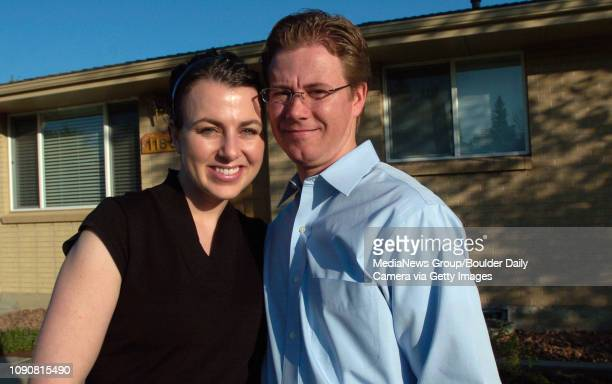 Scott and Sophie Terry are getting ready to move into a new home where they will stock emergency supplies for up to one year photographed at their...