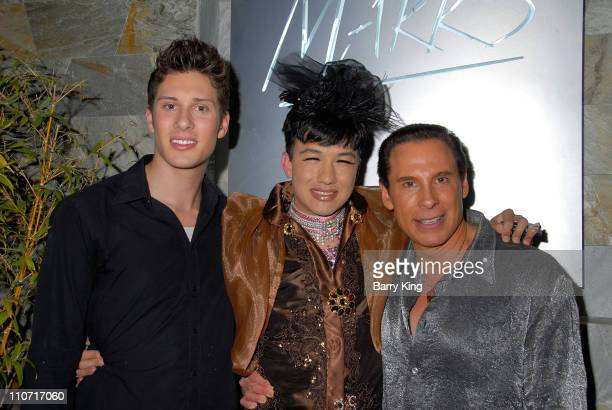 Scott Anderson, television personality Bobby Trendy and publicist Phil Lobel attend the Marks Restaurant 20th Anniversary Party held at Marks on...