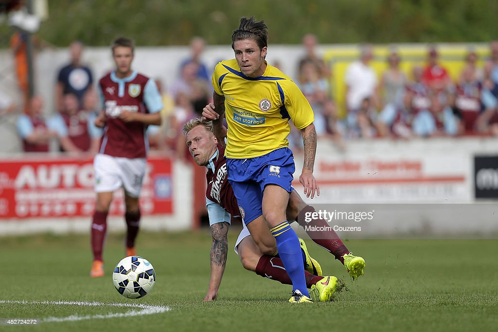 Accrington Stanley v Burnley - Pre Season Friendly : News Photo