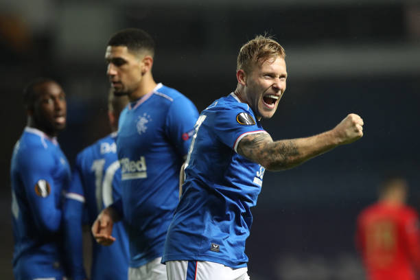 GBR: Rangers v SL Benfica: Group D - UEFA Europa League