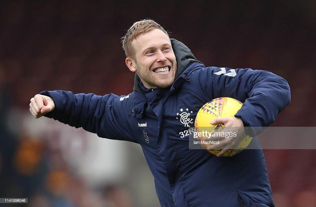 Motherwell v Rangers - Scottish Ladbrookes Premiership : News Photo