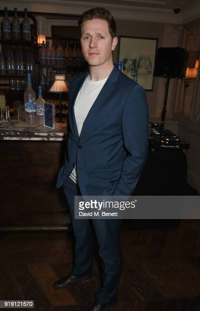 Scott Arthur attends Grey Goose Vodka and GQ Style's dinner in celebration of film and fashion at Kettner's on February 16 2018 in London England