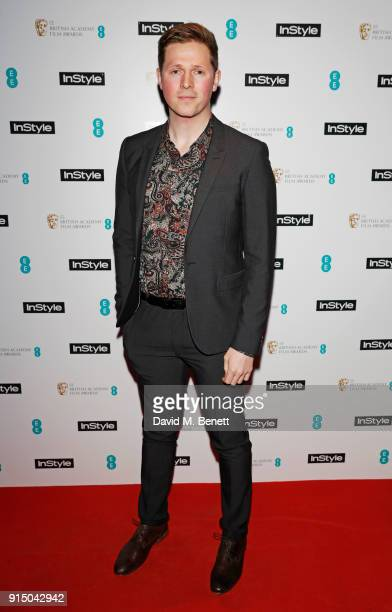 Scott Arthur attends the InStyle EE Rising Star Party Ahead Of The EE BAFTAs at Granary Square on February 6 2018 in London England