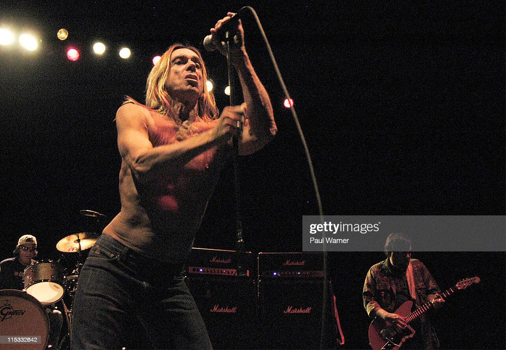 Scott Asheton, Iggy Pop and Ron Asheton of Iggy and The Stooges