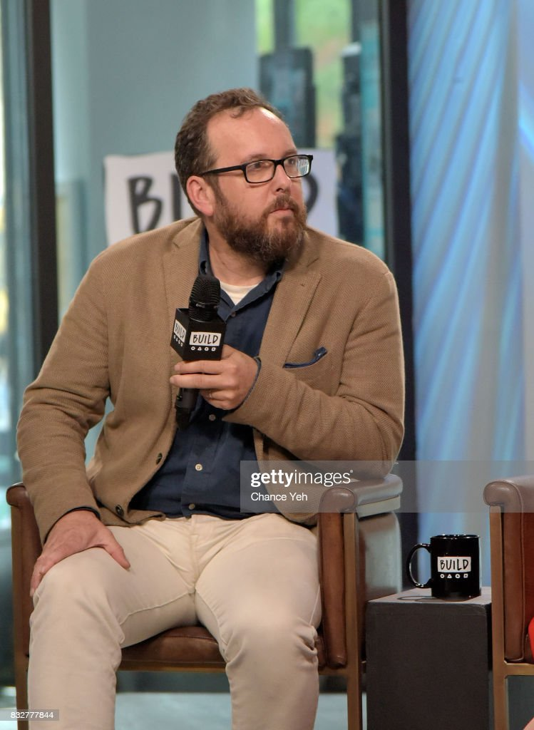 A.O. Scott attends Build series to discuss One Film, One New York Campaign at Build Studio on August 16, 2017 in New York City.