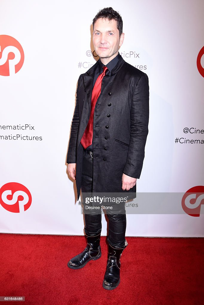 TJ Scott attends the Rachele Royale Single and Music Video Release for 'Circus Life' at Cinematic Pictures Gallery on January 13, 2017 in Hollywood, California.