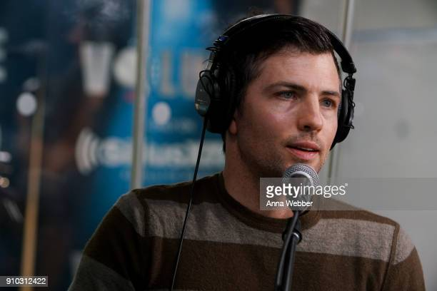 Scott Avett during SiriusXM Town Hall With Judd Apatow Michael Bonfiglio The Avett Brothers Hosted By Kurt Loder at SiriusXM Studios on January 25...