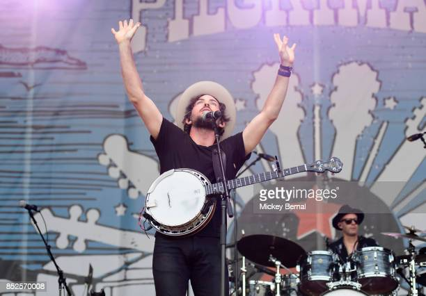 Scott Avett of the Avett Brothers performs during Pilgrimage Music Cultural Festival on September 23 2017 in Franklin Tennessee