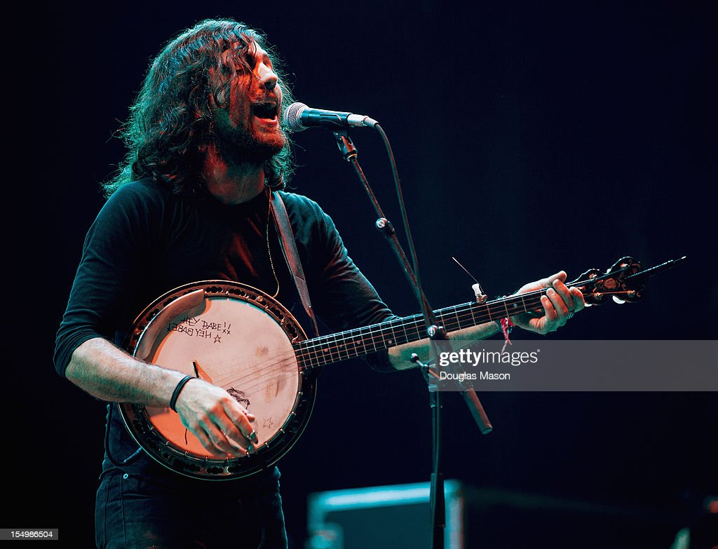 Scott Avett of the Avett Brothers performs during the 2012 Voodoo Experience at City Park on October 26, 2012 in New Orleans, Louisiana.