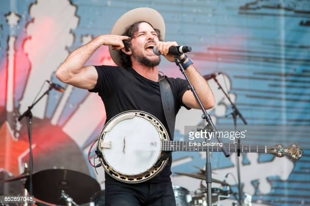 Scott Avett of the Avett Brothers performs during the Pilgrimage Music Cultural Festival 2017 on September 23 2017 in Franklin Tennessee