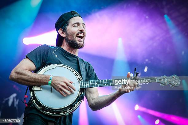 Scott Avett of The Avett Brothers performs on Day 1 of the Osheaga Music and Art Festival on July 31 2015 in Montreal Canada