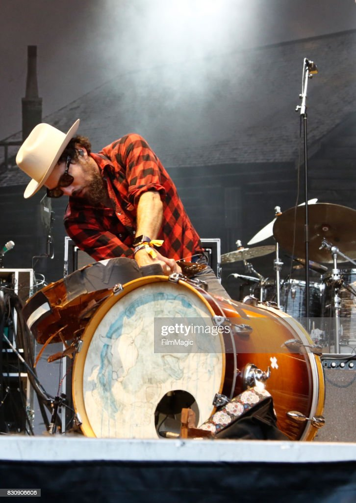 Scott Avett of The Avett Brothers performs on the Sutro Stage during the 2017 Outside Lands Music And Arts Festival at Golden Gate Park on August 12, 2017 in San Francisco, California.