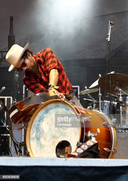 Scott Avett of The Avett Brothers performs on the Sutro Stage during the 2017 Outside Lands Music And Arts Festival at Golden Gate Park on August 12...
