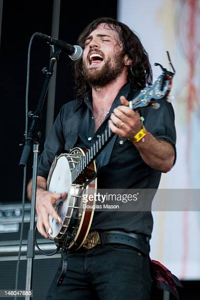 Scott Avett of the The Avett Brothers performs during the 2012 Bonnaroo Music and Arts Festival on June 8 2012 in Manchester Tennessee