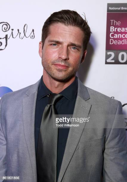 Scott Bailey attends National Breast Cancer Coalition Fund's 17th Annual Les Girls Cabaret at Avalon Hollywood on October 15 2017 in Los Angeles...