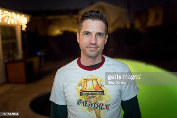 Scott Bailey attends The Bay Ugly Sweater And Secret Santa Christmas Party at Private Residence on December 12 2017 in Los Angeles California